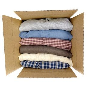 Men's 3XLT 6 pc mystery box bottom-down shirts